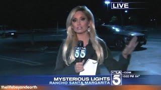 UFO sighting, strange object appears over Orange County