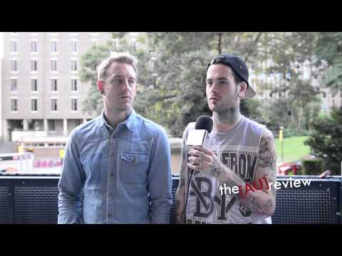 Pat and Richard from Funeral For a Friend: Australian Interview (Part Two)