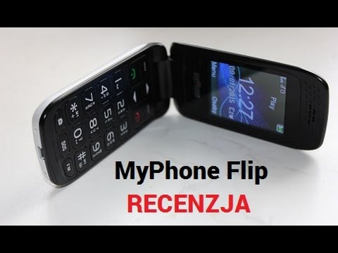 0cd329b66219e MyPhone Flip - Tani Telefon z Klapką [RECENZJA] - YouTube