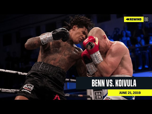 FULL FIGHT | Conor Benn vs. Jussi Koivula (DAZN REWIND)