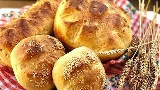 Домашний хлеб на дрожжах Мягкий и воздушный