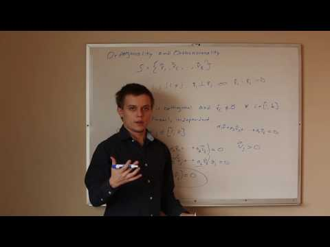 Orthogonality and Orthonormality | The Complete Linear Algebra Study Guide