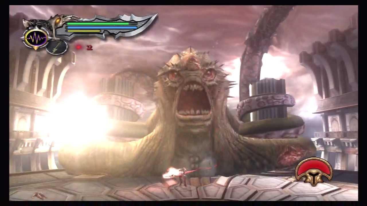 God Of War Road To Ascension GOW2 Kratos VS Kraken Hard Part91 KG