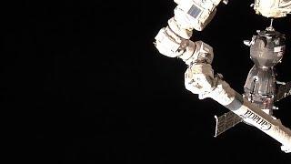 Soyuz MS-12 docking