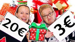 DAS LOS ENTSCHEIDET UNSEREN HAUL Eva & Kathi Weihnachtsgeschenke einkaufen Sonntagschallenge #141