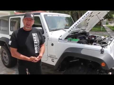 Announcing The 3.8L ISF Jeep Wrangler Diesel Conversion
