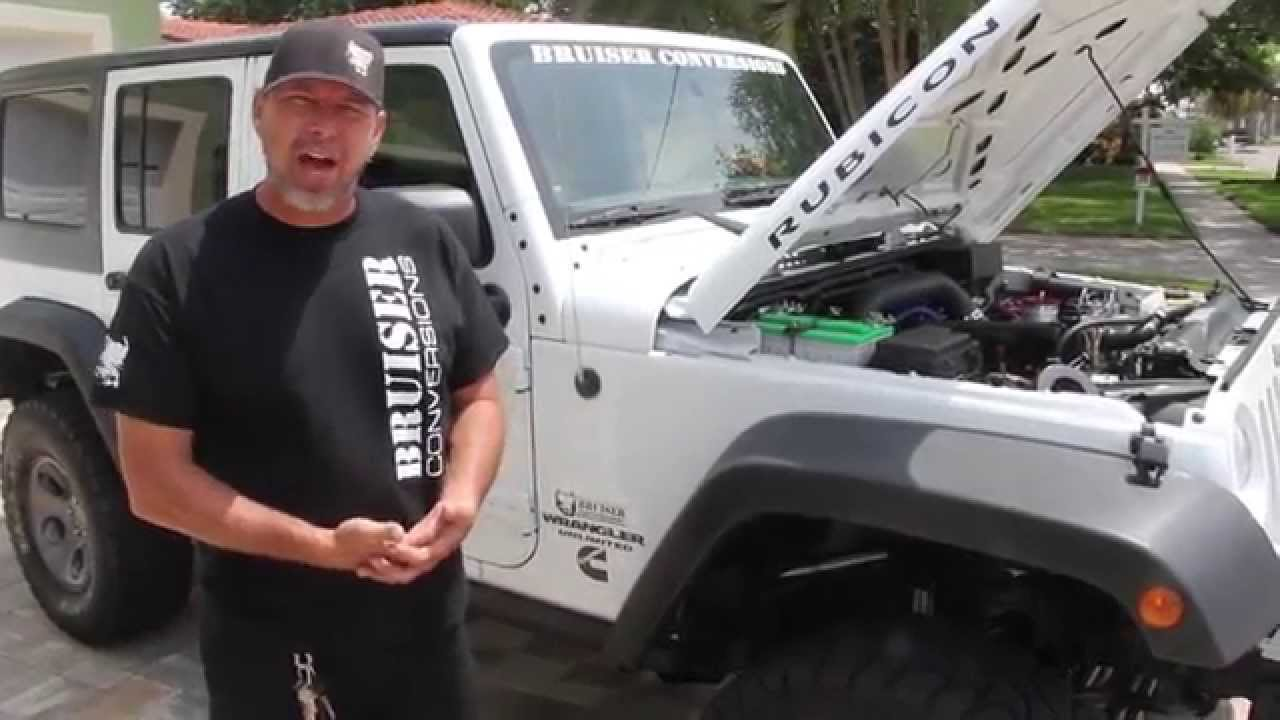 Announcing the 3 8L ISF Jeep Wrangler Diesel Conversion
