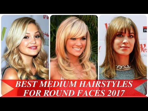 Best Medium Hairstyles For Round Faces