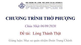 HTTL KINGSGROVE (Úc Châu) - Chương trình thờ phượng Chúa - 06/09/2020