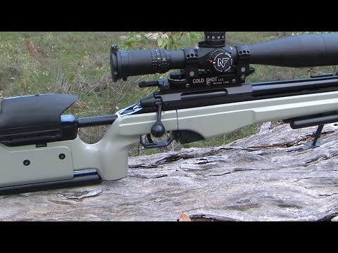 How to set up a rifle for long range shooting 4AW style