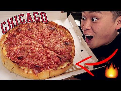BEST CHICAGO DEEP DISH PIZZA TASTE TEST