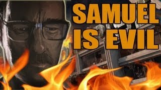 Samuel Is A Zombie? Evil Secret! Black Ops 2 Zombies Die Rise Map Pack Cutscene Analysis