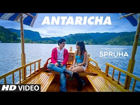 Antaricha Video Song |  Spruha | Gashmeer Mahajani, Mrunmayee Deshpande | Vishal Mishra
