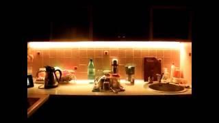 Светодиодная подсветка кухни. Лента smd 5050 RGB. LED lighting(Светодиодная подсветка интерьера кухни. Лента RGB Светодиодная цветная лента, контроллер, блок питания,..., 2011-03-09T06:46:35.000Z)