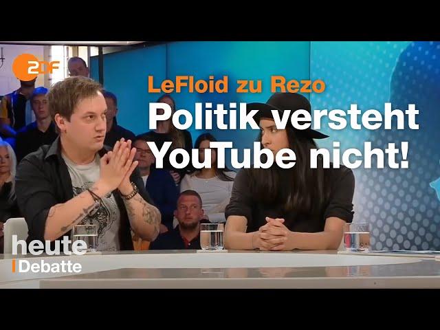 LeFloid zum GroKo-Desaster bei Illner