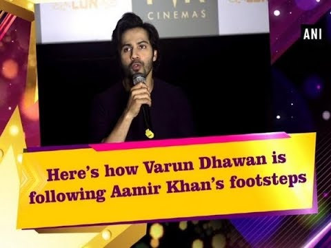 Here's how Varun Dhawan is following Aamir Khan's footsteps - Bollywood News