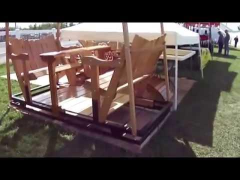 Homemade Wood Furniture Videos