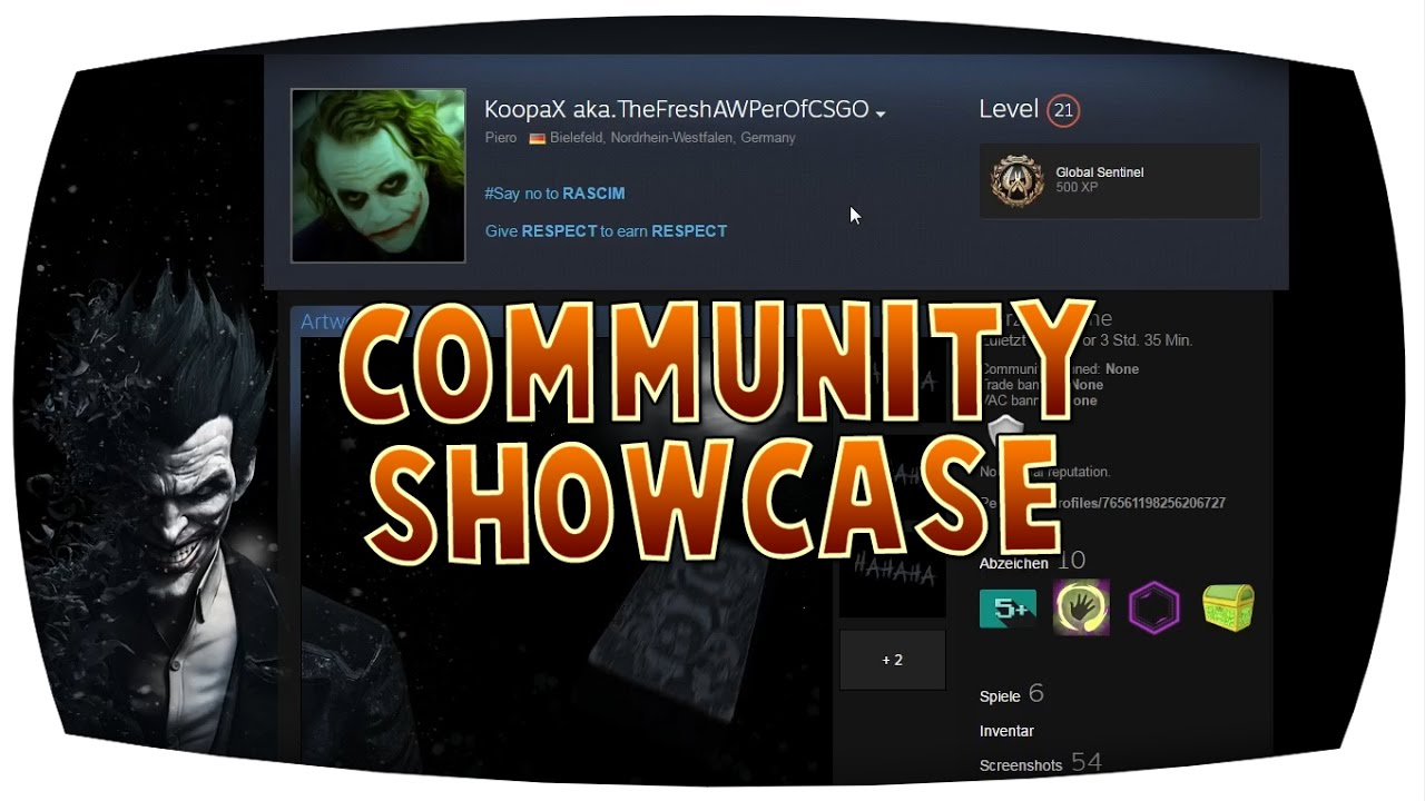 cs go community showcase koopax youtube. Black Bedroom Furniture Sets. Home Design Ideas