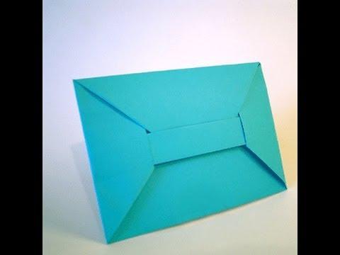 Оригами - конверт