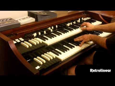 Joe Pantano Killing it on the Hammond Organ - A-100 Restoration by Retrolinear