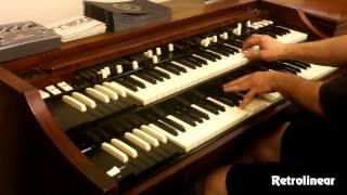 Joe Pantano Killing it on the Hammond Organ - A-100 Restoration by Retrolinear thumbnail
