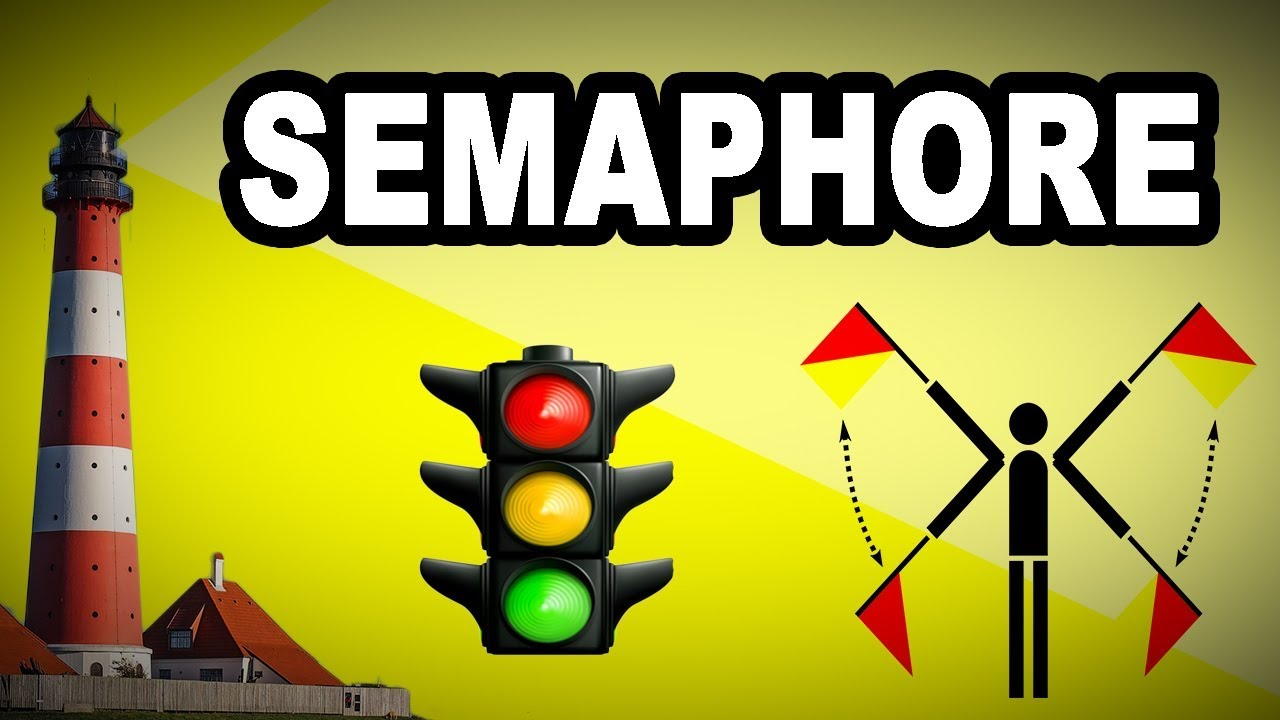 Learn English Words - SEMAPHORE - Meaning, Vocabulary with