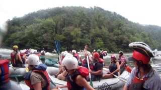 "Ocoee River Whitewater Rafting 4 ""Hanging Out At Staging Eddy"""