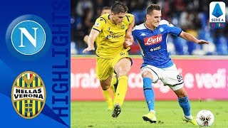 Napoli 2-0 Hellas Verona | Milik Double Keeps Hosts in Top 4 Spot | Serie A