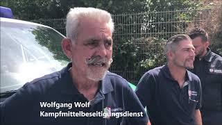 Entschärfung einer Fliegerbombe in Euskirchen