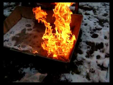 Деревянный ящик для газового баллона 5