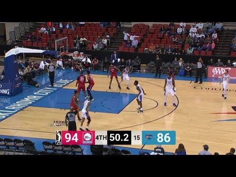 Dakari Johnson Posts 19 points & 10 rebounds vs. Delaware 87ers