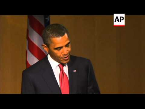 Obama talks about relationship with Australia; joke about local accent