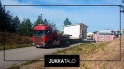 Jukkatalon asuntomessutalo matkalla Seinäjoelle!