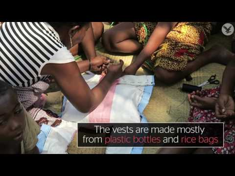 Africa's drowning crisis: Recycled life jackets may help solve dilemma