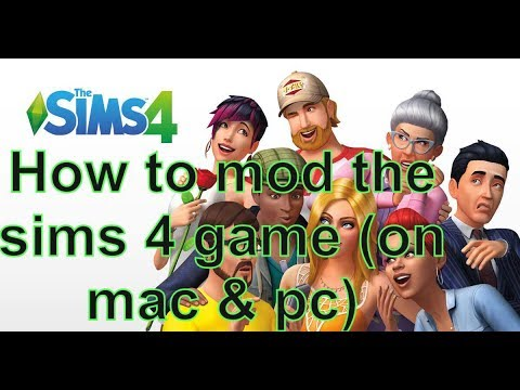 how to do mods on the sims 4 game (on mac and pc) - youtube