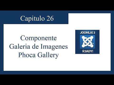 TUTORIAL JOOMLA 3.0 CAPITULO 26: GALERIA DE IMAGENES PHOCA GALLERY