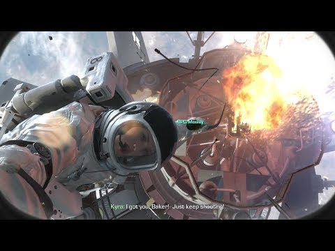 Call of Duty: Ghosts - Space Scene