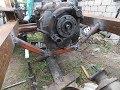 Поделки - Самодельный трактор.Процесс сборки.Доп.крепление коробки.#29