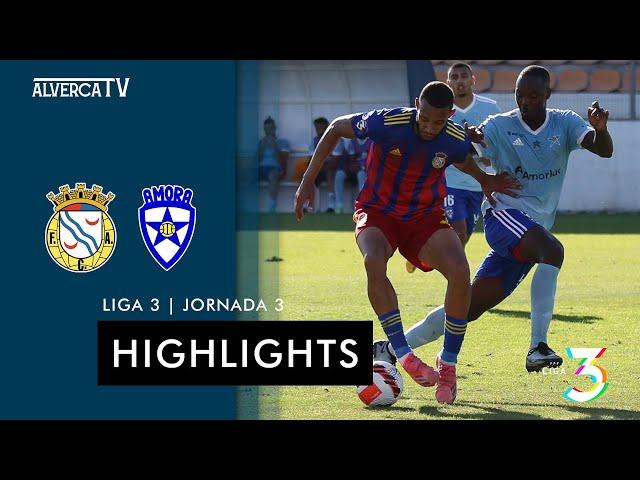 FC Alverca 2 - 3 Amora FC | Highlights