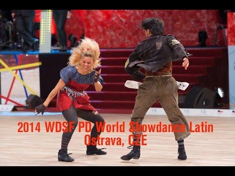 2014 PD World Showdance Latin   The Final Reel   DanceSport Total