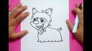 Como dibujar a Cleo paso a paso - Cleo | How to draw Cleo - Cleo