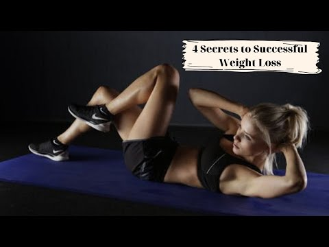 4 secrets to successful weight loss