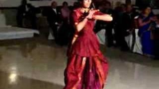 Rupesh/Sapna wedding: Pooja dancing