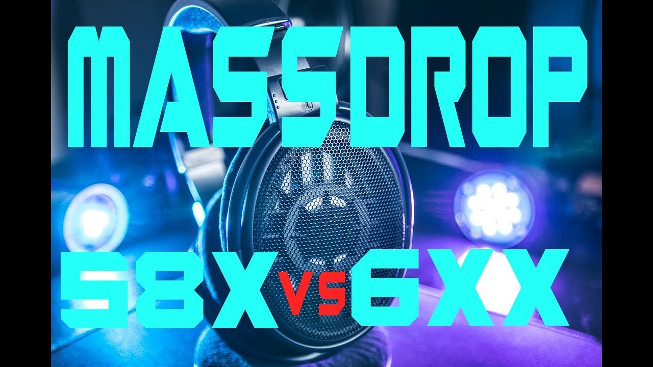 Massdrop HD58X VS HD6XX (Headphone Comparison)