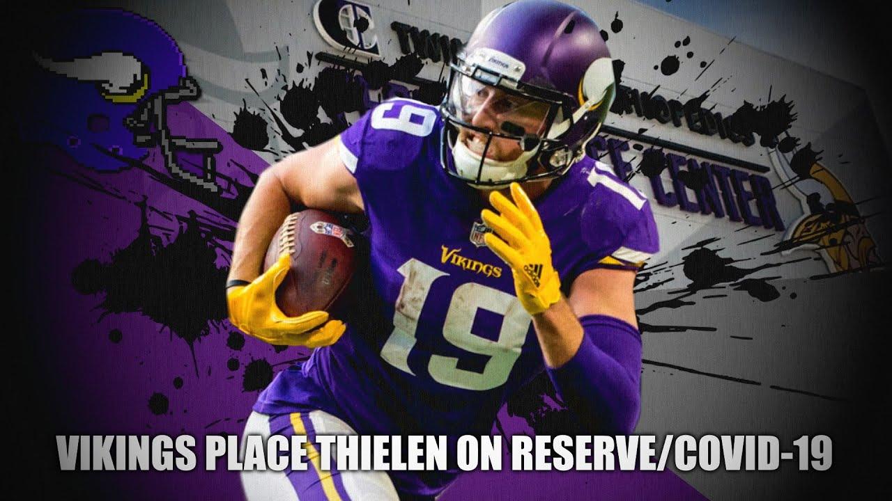 Vikings Place Adam Thielen On COVID Reserve List
