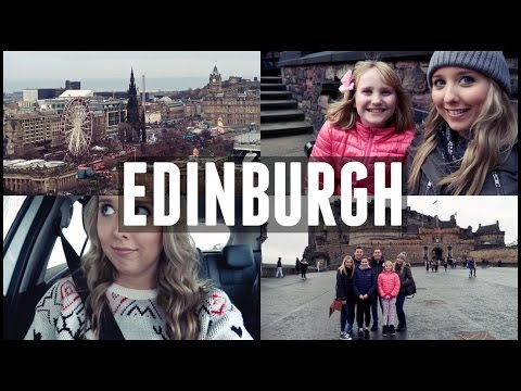 EDINBURGH CASTLE AND CHRISTMAS MARKET | SCOTLAND