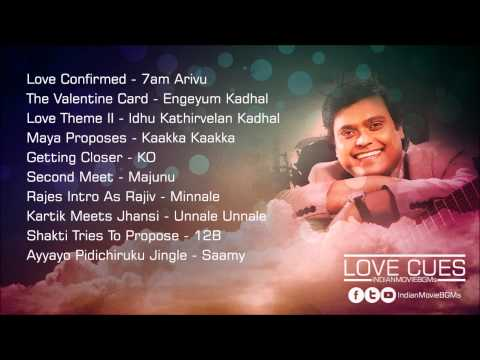 Love Cues | Harris Jayaraj | Jukebox | IndianMovieBGMs