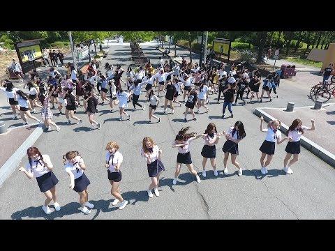 MOMOLAND(모모랜드) '어마어마해' 플래시몹…100여 명 팬들과 함께 (Wonderful love, Flashmob)
