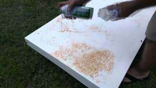 Paint your fridge DIY