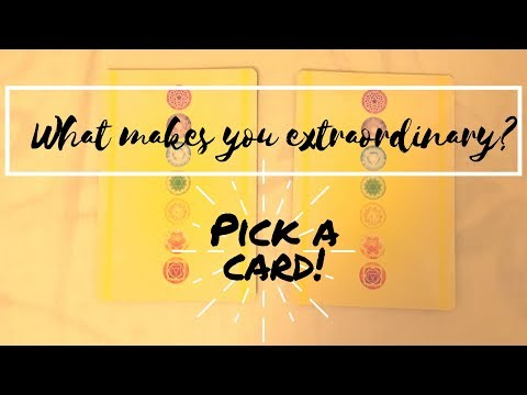 What makes you extraordinary? *Pick a card* 🔮✨STEP INTO YOUR POWER 💥